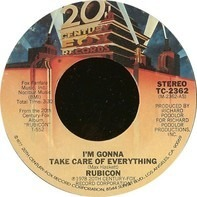 Rubicon - I'm Gonna Take Care Of Everything / That's The Way Things Are