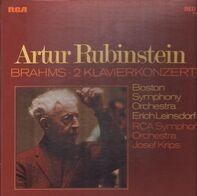 Rubinstein, Boston Symp Orch, E. Leinsdorf, RCA Symph Orch, J. Krips - Brahms-2 Klavierkonzerte