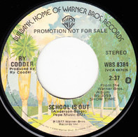 Ry Cooder - School Is Out