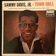 Sammy Davis Jr. - Sammy Davis, Jr. at Town Hall