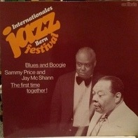 Sammy Price & Jay McShann - Jazz Festival Bern Blues And Boogie