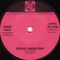 Sandie Shaw - Message Understood