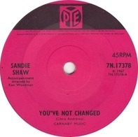 Sandie Shaw - You've Not Changed