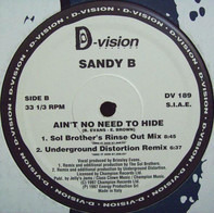 Sandy B - Ain't No Need to Hide