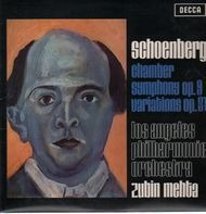 Schoenberg - Chamber Symphony op. 9, Variations op. 31 (Zubin Mehta)