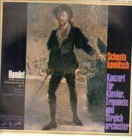 Schostakowitsch/ G. Roshdestwensky, M. Grinberg, S. Popov - Hamlet-Suite aus der Schauspilemusik op. 32 * Konzert für Klavier, Trompete und Streichorch. c-moll