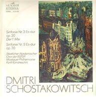 Schostakowitsch / Nekljudow, a. o. - Sinfonie Nr.3 Es-dur 'Der 1. Mai', Sinfonie Nr.9 Es-dur