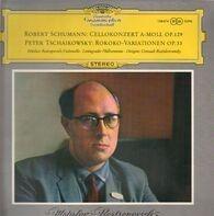 Schumann,Tschaikowsky7 Mstislav Rostropovitch, Leningrader Philharmonie, G. Rozhdestvensky - Cellokonzert A-Moll, Rokoko-Variationen