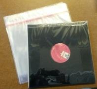 LP Schutzhuellen - 20 Stück / transparent