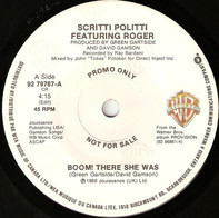 Scritti Politti Featuring Roger Troutman - Boom! There She Was