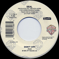 Seal - Don't Cry