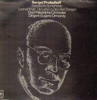Sergei Prokofieff/ Eugene Ormandy, Philadelphia Orchester - Klassische Symphonie op.25, Leutnant Kijé Suite, Die Liebe zu den drei Orangen