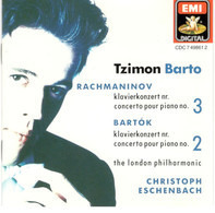 Sergei Vasilyevich Rachmaninoff , Béla Bartók - Tzimon Barto , The London Philharmonic Orchestra , - Rachmaninov: Klavierkonzert Nr. 3 = Concerto Pour Piano No. 3 · Bartók: Klavierkonzert Nr. 2 = Conc