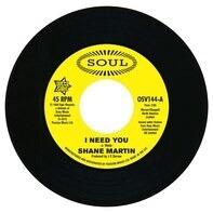 Shane Martin/Taj Mahal - I Need You/A Lot Of Love