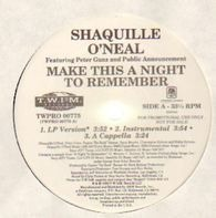 Shaquille O'Neal - Make This A Night To Remember