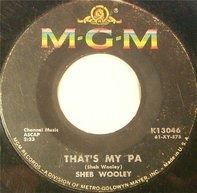 Sheb Wooley - That's My Pa / Meet Mr. Lonely