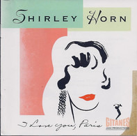 Shirley Horn - I Love You, Paris