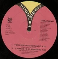 Shirley Lewis - (You Used To Be) Romantic