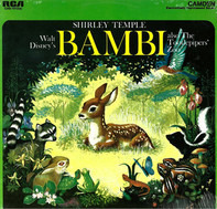 Shirley Temple , The Tootlepipers - Walt Disney's Bambi Also The Tootlepipers' Zoo