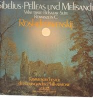 Sibelius/ Kammerorch. der Leningrader Philharmonie, G. Roshdestwenkij - Pelleas und Melisande*Romante C-dur op.42* Belsazar* Valse triste
