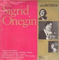 Sigrid Onegin - Singt aus den Opern Carmen, Don Carlos, etc.