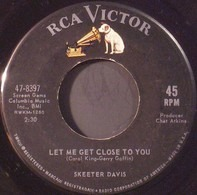 Skeeter Davis - Let Me Get Close To You / The Face Of A Clown