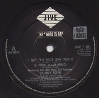 Skinny Boys - Set The Pace (Say Yeah)