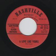 Slim Foster with Tompall Glaser & The Glaser Brothers - A Love Like Yours
