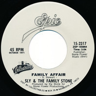 Sly & The Family Stone - Family Affair / Runnin' Away