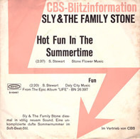 Sly & The Family Stone - Hot Fun In The Summertime / Fun