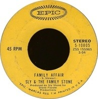 Sly & The Family Stone - Family Affair / Luv N' Haight