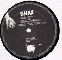 Snax - No Dancing EP