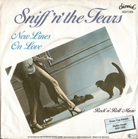 Sniff 'n' the Tears - New Lines On Love / Rock 'N' Roll Music