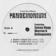Snoop Dogg Featuring Warren G & The Delinquents - Baller's Night Out / Rider's Ride