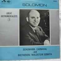 Schumann, Beethoven - Great Instrumentalists - 3 (Solomon)
