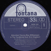 Sonny Boy Williamson and The Yardbirds - Attention