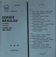 Sophie Braslau - Operatic and song recital
