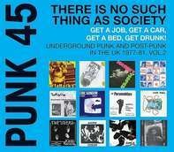 Soul Jazz Records Presents/various - Punk 45:There Is No Such Thing As Society