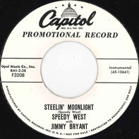 Speedy West With Jimmy Bryant - Steelin' Moonlight / Caffeine Patrol