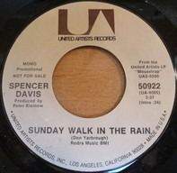 Spencer Davis - Sunday Walk In The Rain