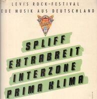 Spliff, Extrabreit, Interzone, Prima Klima - Levis Rock-Festival - Neue Musik Aus Deutschland