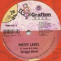 Spragga Benz , Hawkeye - Matey Label / Inna Mi Zone