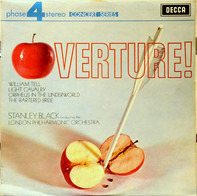 Stanley Black Conducting The London Philharmonic Orchestra - Overture! William Tell / Light Cavalry / Orpheus In The Underworld / The Bartered Bride