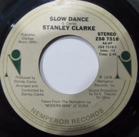 Stanley Clarke - Slow Dance / Rock 'N' Roll Jelly