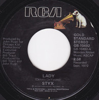 Styx - Lady / Children Of The Land (Short Version)