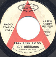 Sue Richards - Feel Free To Go / No Special Occasion