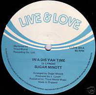 Sugar Minott - In' A Dis Yah Time