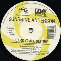 Sunshine Anderson - Heard It All Before (Dance Remixes)