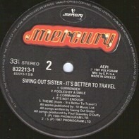 Swing Out Sister - It's Better To Travelv