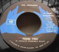 Syl Johnson - Fonk You / That Wiggle